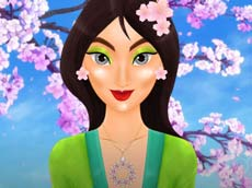 Asian Princess Magis MakeOver