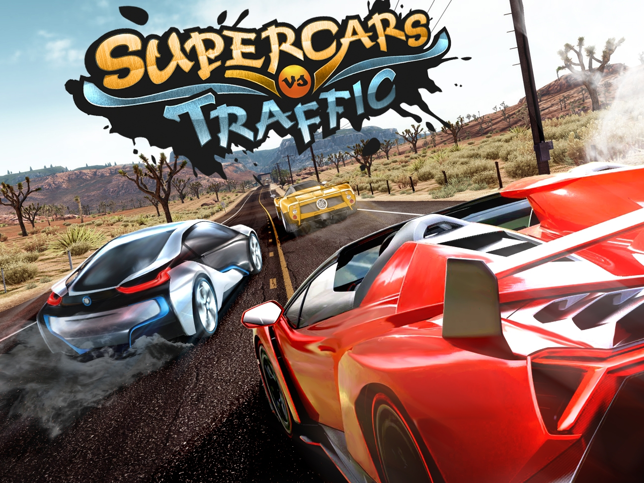 Supercars VS Traffic